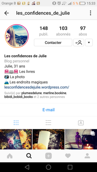 confidences de julie