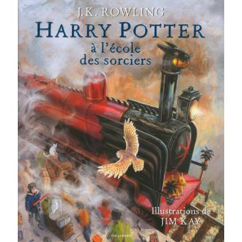 harry potter 1 illustré